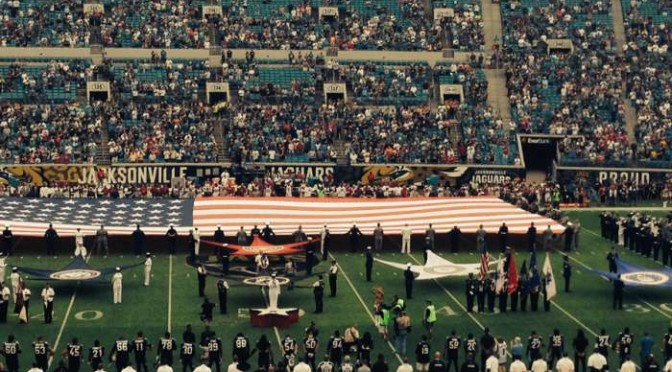 Jaguars Tribute To The Military
