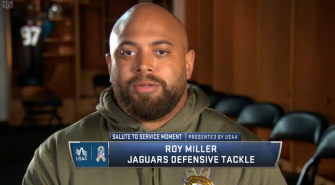 Roy Miller on The NFL Network