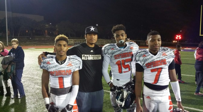 AAF Co-Founder: Juaquin Iglesias' Blog: Coaching The Freshman All-American Game