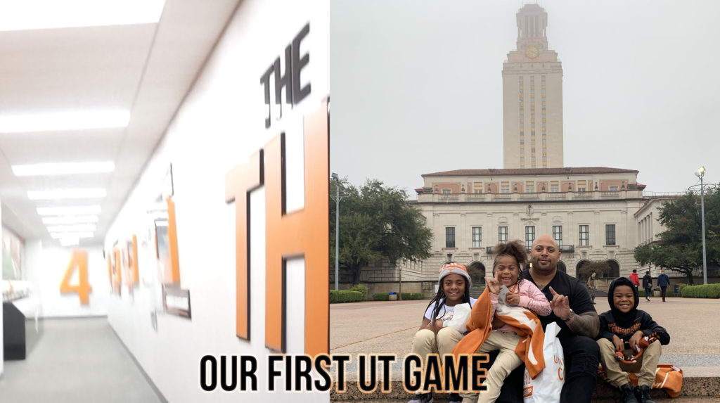 Video: Roy Miller III & His Kids Visit UT